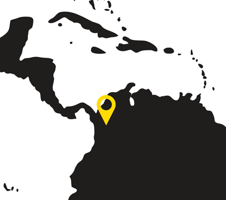 Colombia map - University of Antioquia