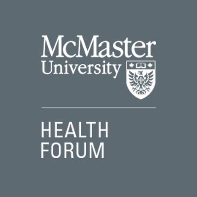 McMaster Health Forum logo - grey