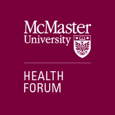 McMaster Health Forum - maroon