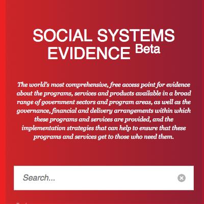 Social Systems Evidence