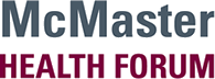 McMaster Health Forum Logo
